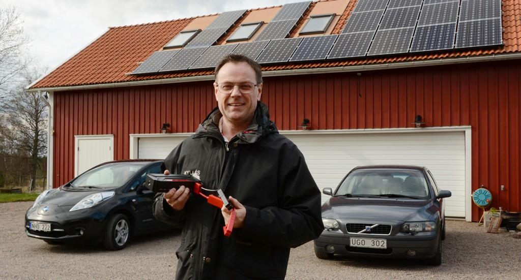 Björn Almgren med startbooster WT3, Weecare