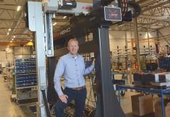 Sven Ståhl, vd för robottillverkaren Wemo