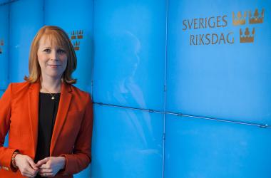 Annie Lööf intervjuas i Företagskanalen