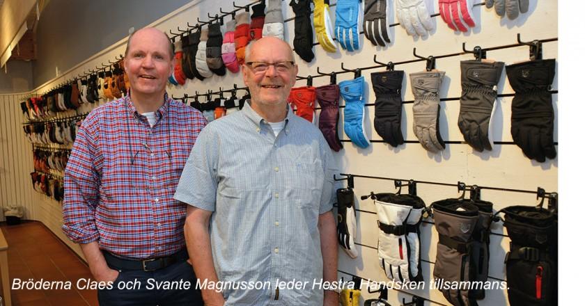 Hestra Handsken Claes och Svante Magnusson