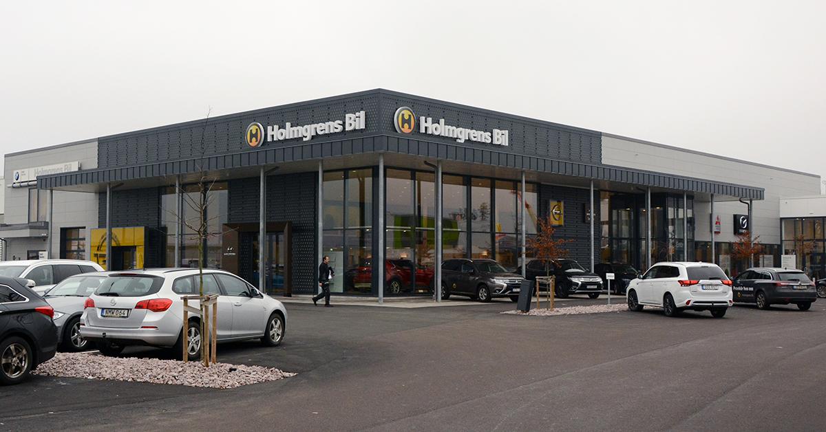 Holmgrens nya anläggning på Bredasten i Värnamo.
