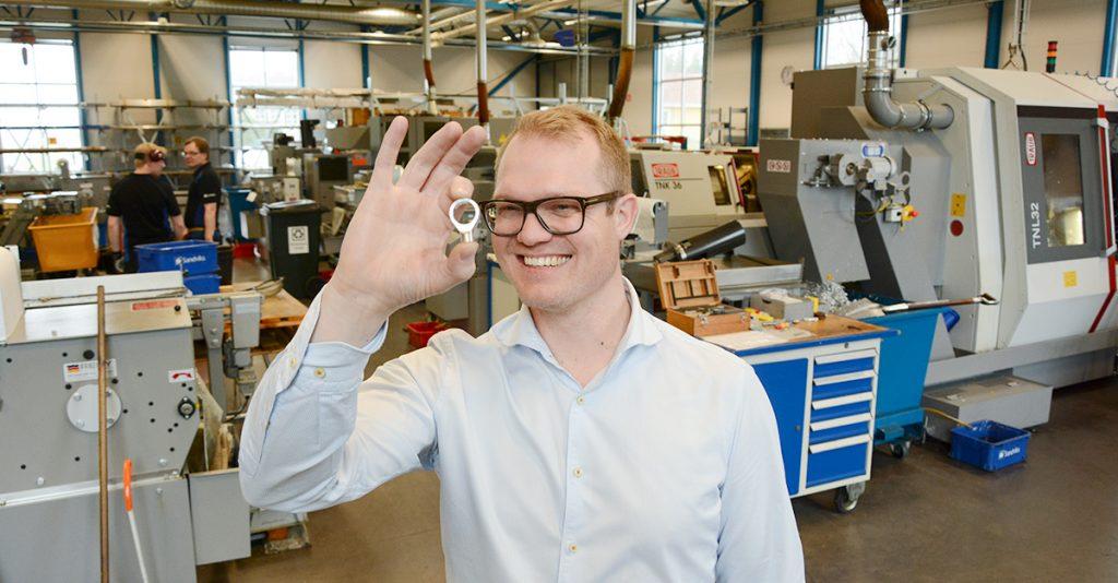 Sandviks metall Karl Andersson svarvning skärande bearbetning