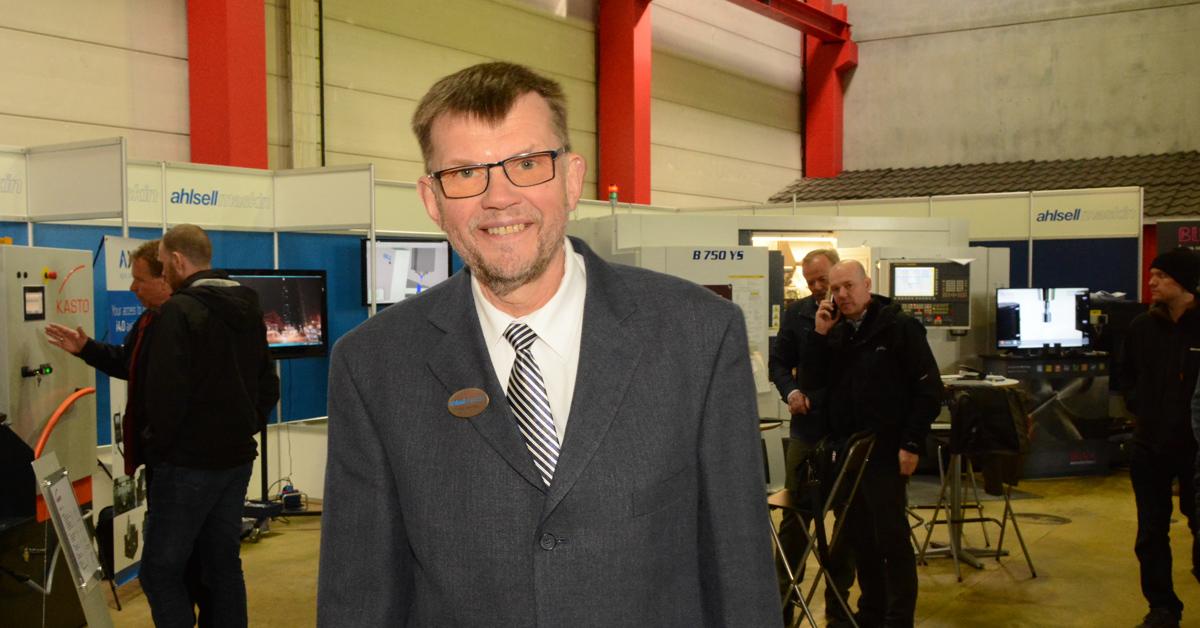Kjell Gallneby på Ahlsell.